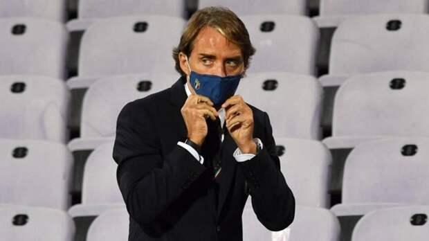Манчини продлит контракт со сборной Италии