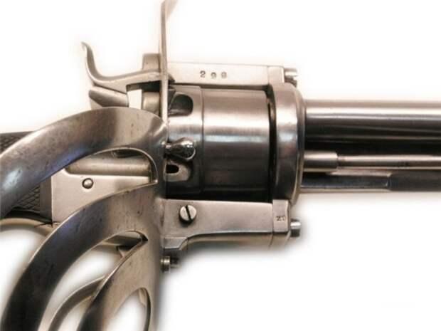 Сабля-револьвер. XIX век