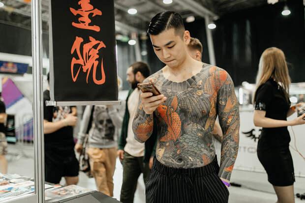 Настоящие фанаты татуировки с Московской Тату Конвенции (ФОТО)