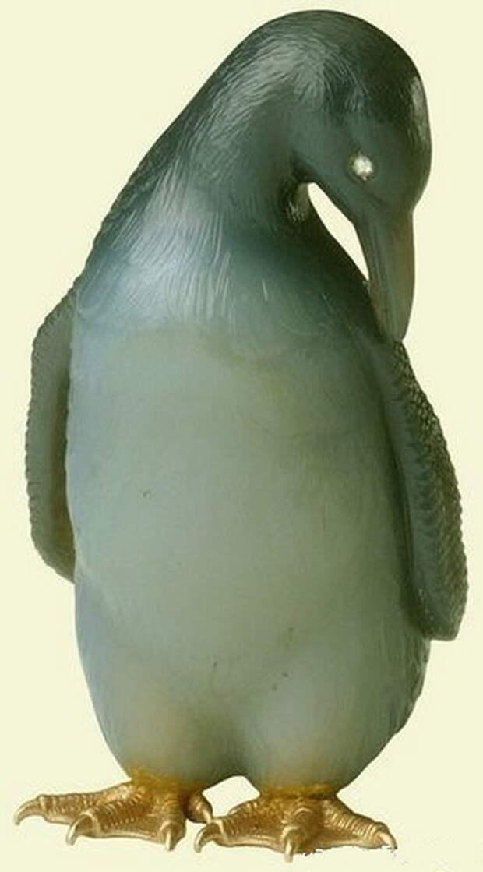 Камнерезные фигурки птиц фирмы Фаберже из королевской коллекции, фото № 16