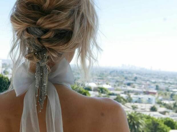 Летние косички и причёски (трафик)