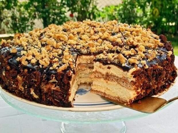 Простой и вкусный тортик