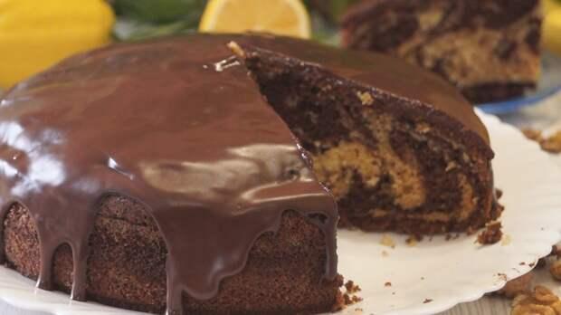 Готовлю пирог «зебра» по-новому, для меня это находка, когда хочешь проще, всегда получается вкуснее