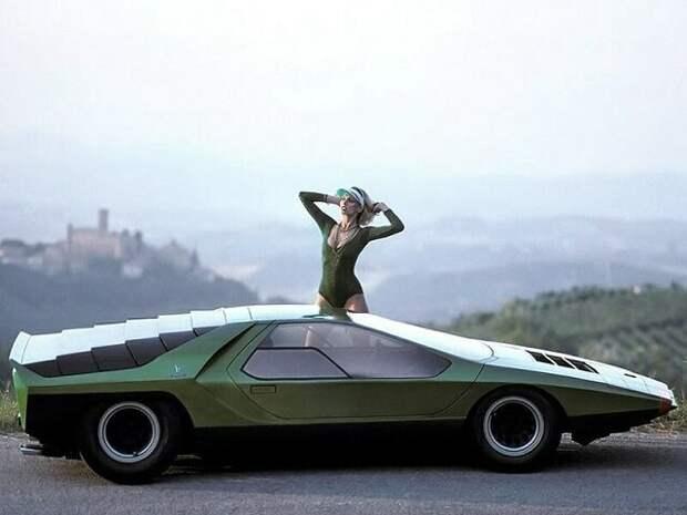 Футуристические автомобили 70-х, которые так и не вышли в серийное производство авто, история, факты