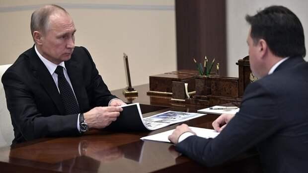 Воробьев пригласил Путина на открытие завода Mercedes в Подмосковье
