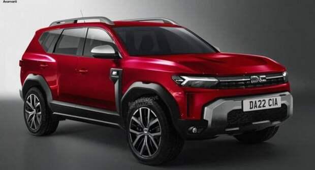 Появились рендерные изображения бюджетного Dacia Bigster
