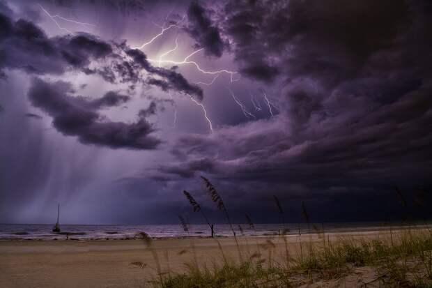 Погода в Крыму — ветер, дожди, грозы