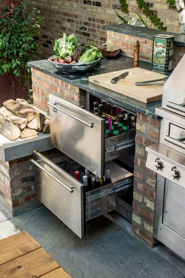 Кухня на улице: интересные и практичные идеи, достойные внимания