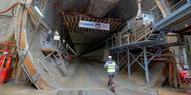 Собянин дал старт проходке тоннеля метро от «Пыхтино» до «Рассказовки»