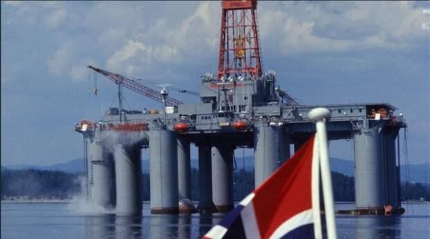 Норвегия добыча