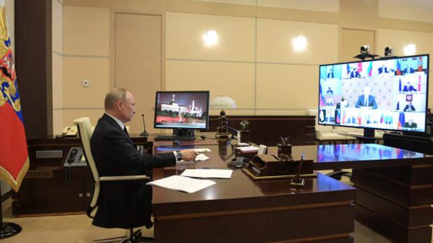 Селекторное совещание Путина. Александр Роджерс