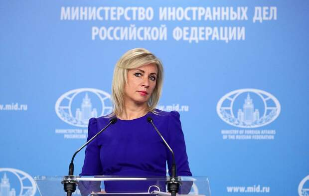 Захарова прокомментировала слова Зеленского о считающих себя русскими жителях Донбасса