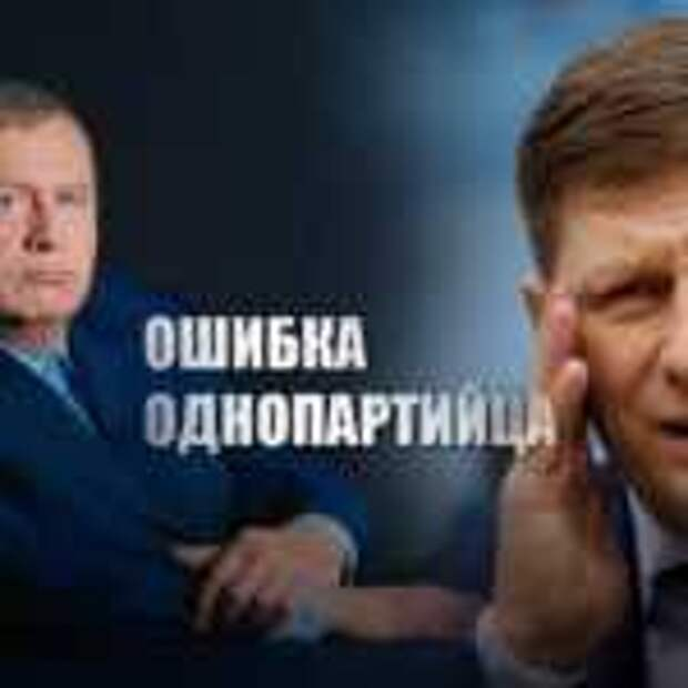 Лидер ЛДПР указал на ошибку Фургала