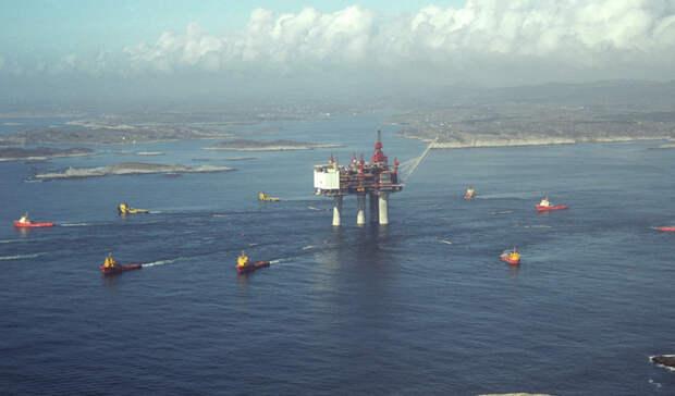 Наплатформе «Гуллфакс С» произошел разлив нефти