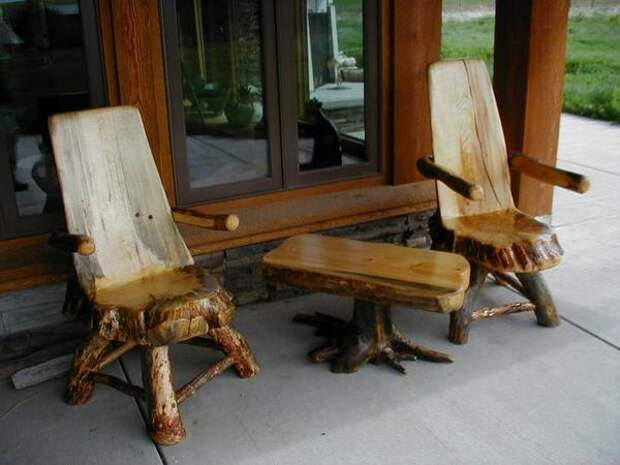 Мебель для террасы. Фото с сайта http://www.yellowstonefurniture.com/