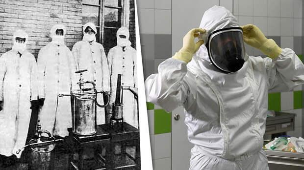 Как эволюционировал костюм биозащиты с 17 века до наших дней