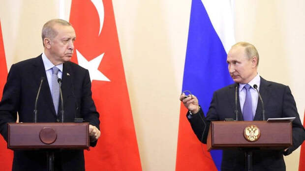 Путин и Эрдоган обсудили конфликт Израиля и Палестины