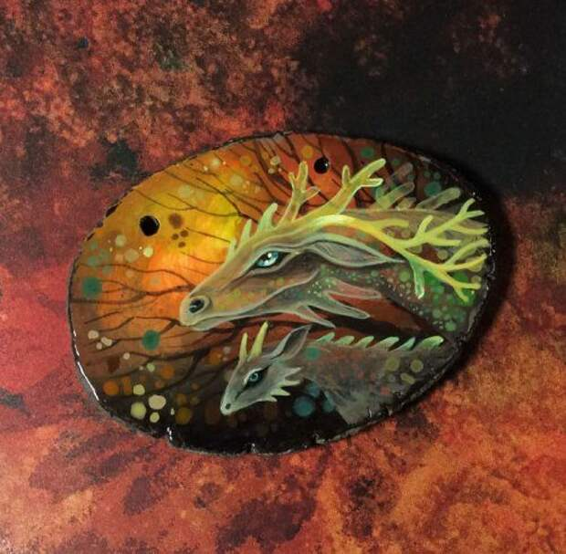 Удивительные сказочные драконы от Татьяны Верховской