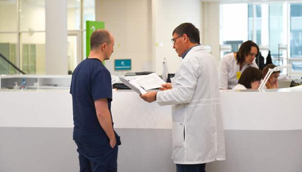 Число госпитализированных с Covid‑19 в Подмосковье снизилось более чем в 3 раза