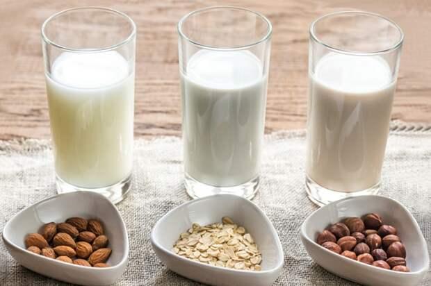 Молоко может готовиться из разных видов орехов. / Фото: mgorod.kz