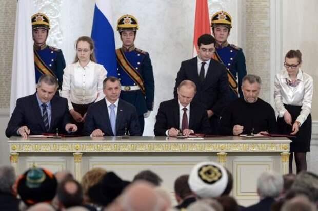 Три года назад Крым вновь стал российским
