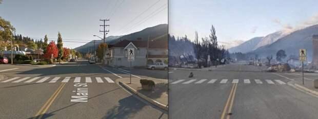 канада жара деревня литтон