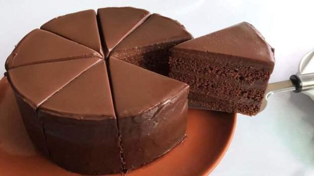 Необычный и очень простой рецепт шоколадного торта без шоколада