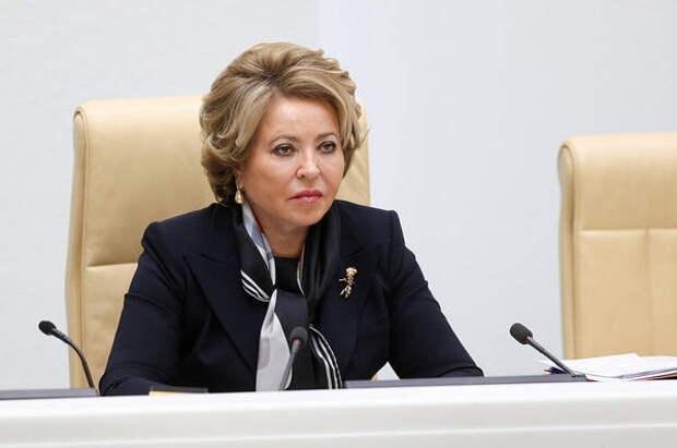 Матвиенко отметила значение Пятого фестивального марафона в эпоху пандемии