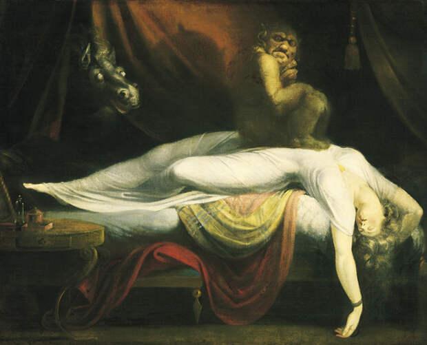 Откуда берется и приходит сонный паралич