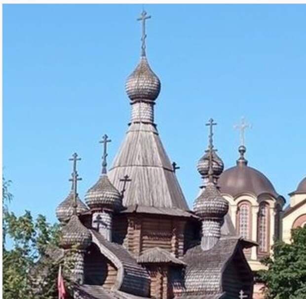 Фото дня: храм великомученика Георгия Победоносца в Коптеве