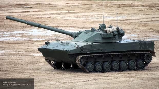 В США восхитились российским танком-амфибией «Спрут»