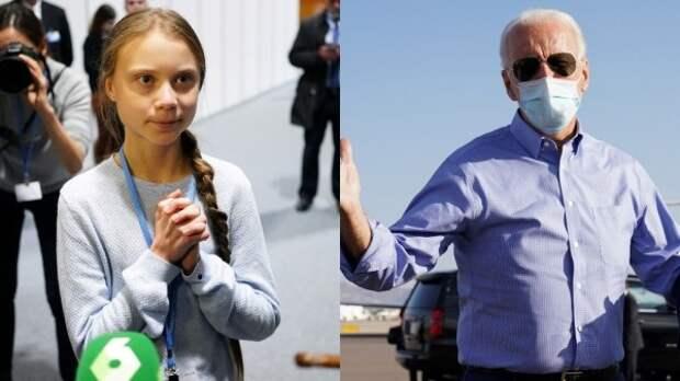 """Пролетевшая мимо """"нобелевки"""" Грета вмешалась в американские выборы"""