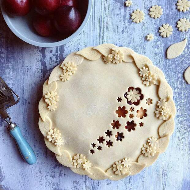 Идея украшения пирога