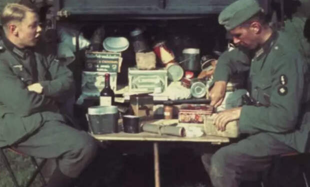 Продукты СССР, которые никогда не ели немецкие солдаты