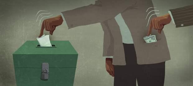 Кандидат от КПРФ Щапов покупает голоса избирателей