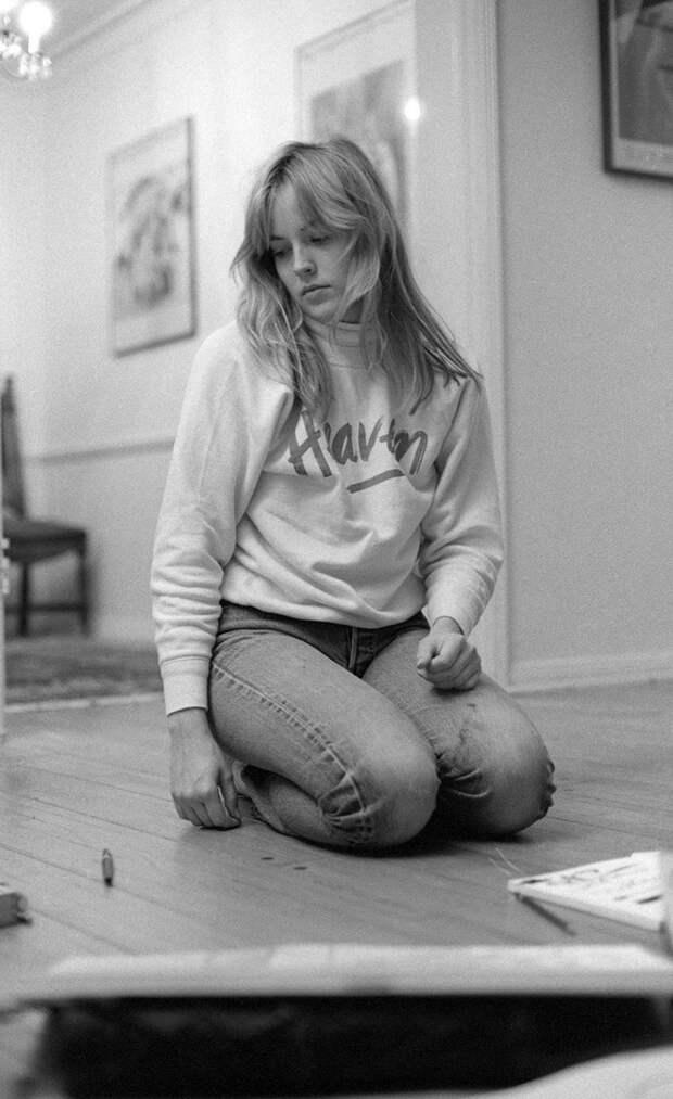 Шэрон Стоун в фотосессии 1983 года