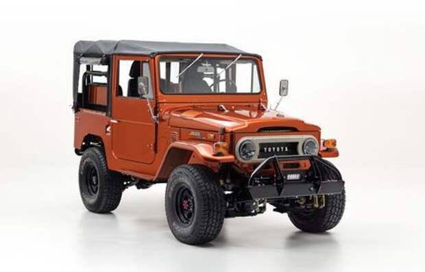 Они издеваются: рестомод Toyota Land Cruiser FJ40 – ода совершенству