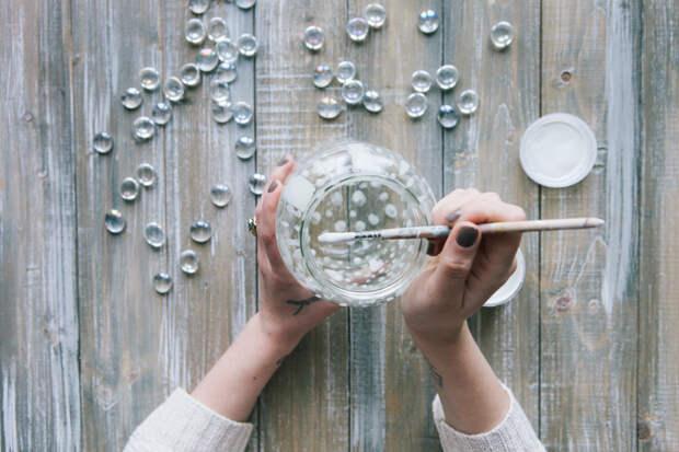 Как сделать светильники из стеклянных банок своими руками