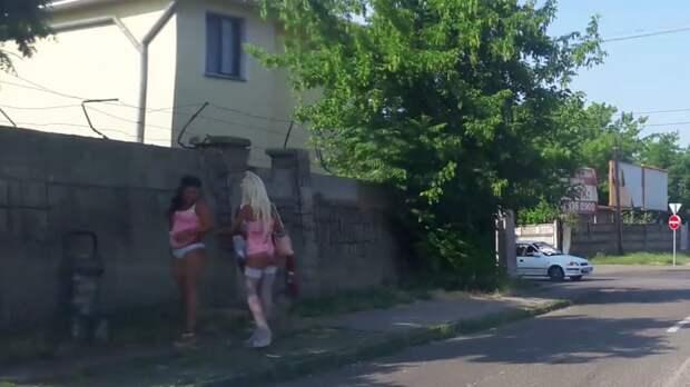 Путаны с городских улиц