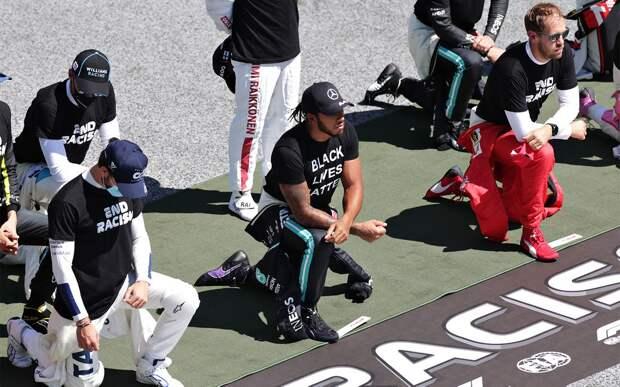 Хэмилтон отреагировал на решение Квята и еще 5 пилотов Формулы-1 не преклонять колено