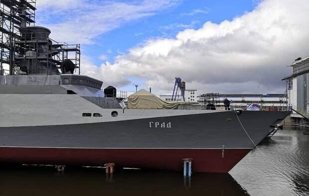 Ракетный «Град» для Балтийского флота