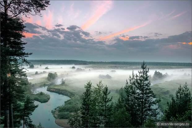 Бабья гора - памятник природы на реке Нерль Клязьминская
