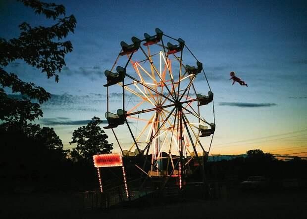 Еслибы дети летали: позитивная фотосерия скучающей вдекрете Рэйчел Гулин