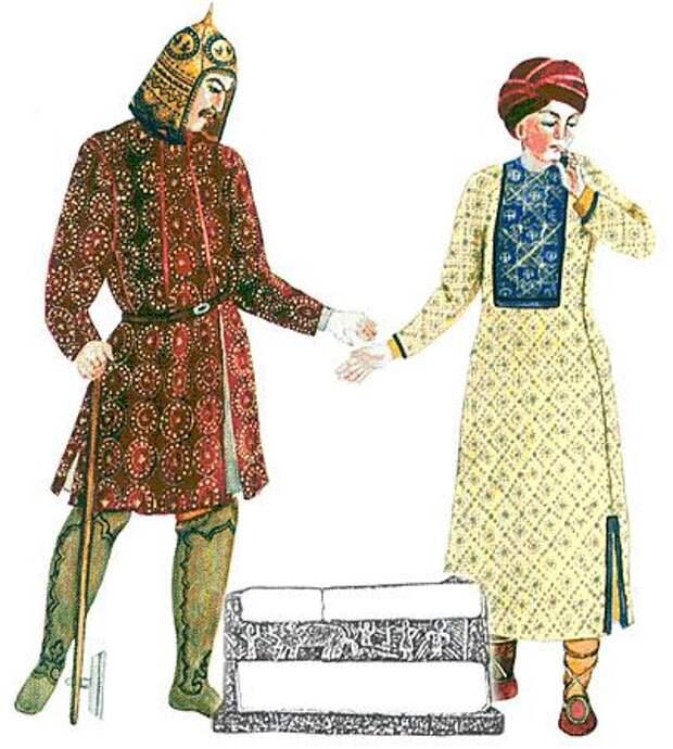 Историческая реконструкция костюма Алан.