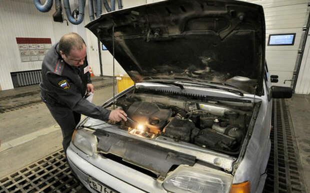 На машины с нечитаемым VIN-кодом хотят наносить наносить полицейскую маркировку