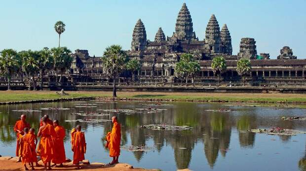 Ангкор – спираль созвездия Дракона