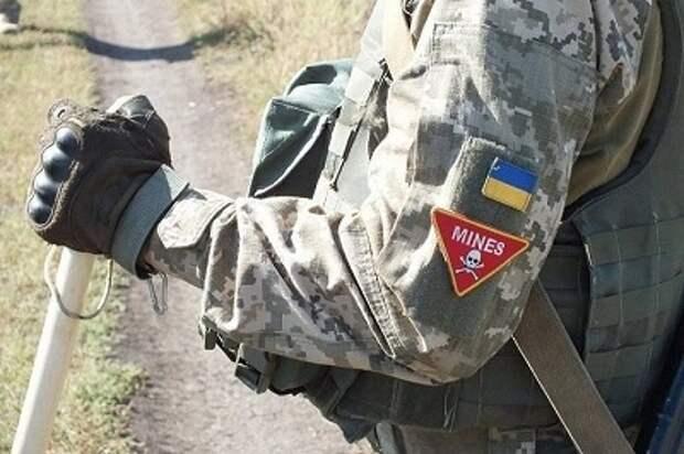 ВСУ установили 270 мин у дорог и домов в Донбассе