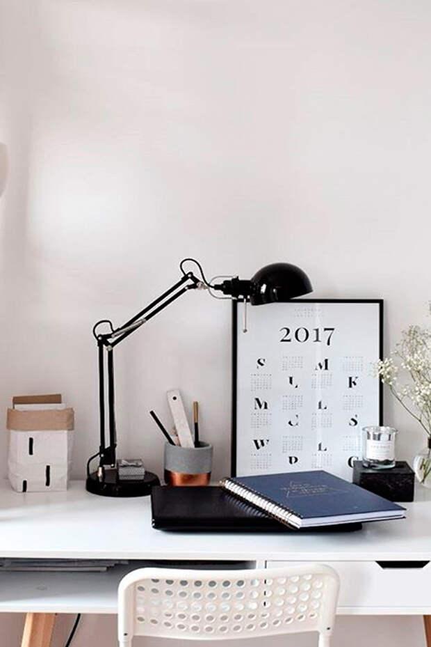 14 полезных советов для организации рабочего стола домашнего офиса
