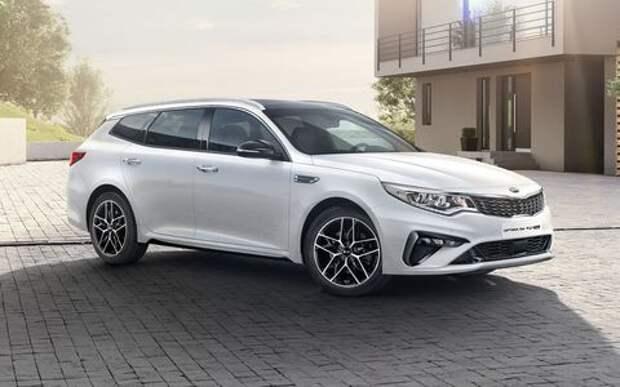Kia рассекретила обновленный универсал Optima Sportswagon