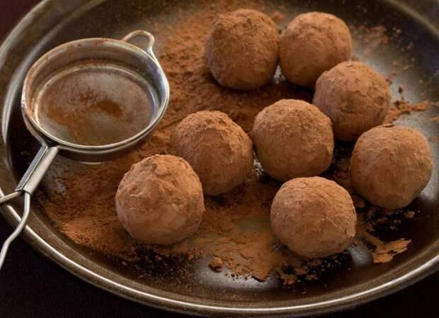 Полезные сладости: Апельсиновые трюфели в какао